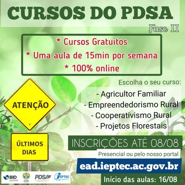 CURSOS PDSA FASE II
